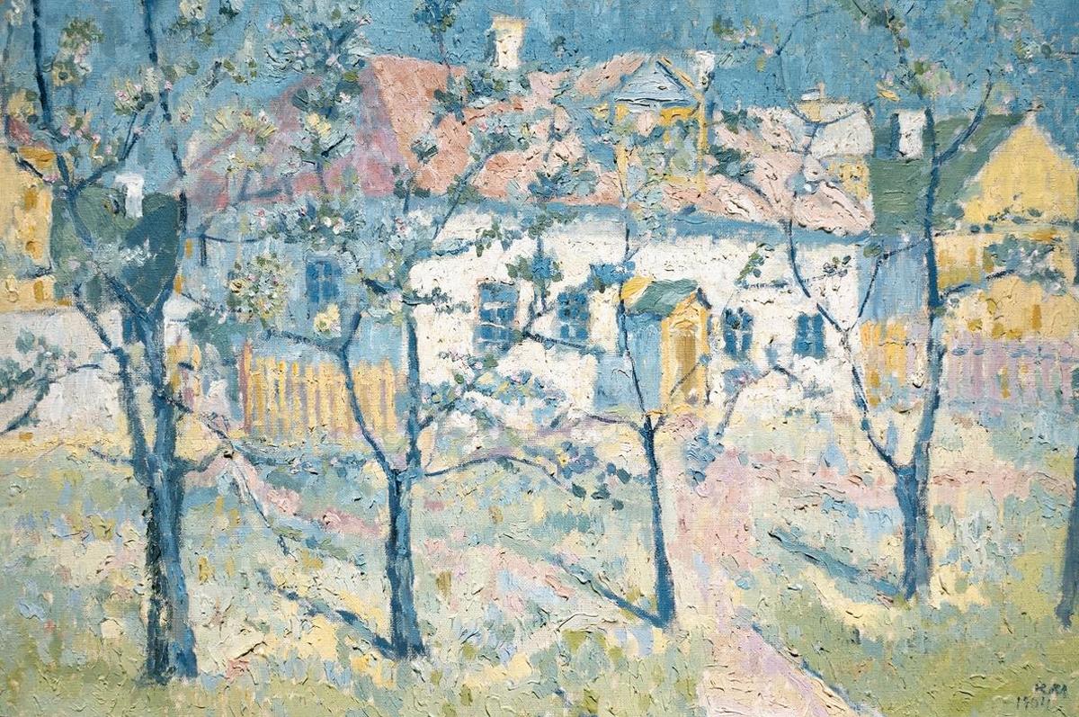 Казимир Малевич. Весна — цветущий сад, 1904