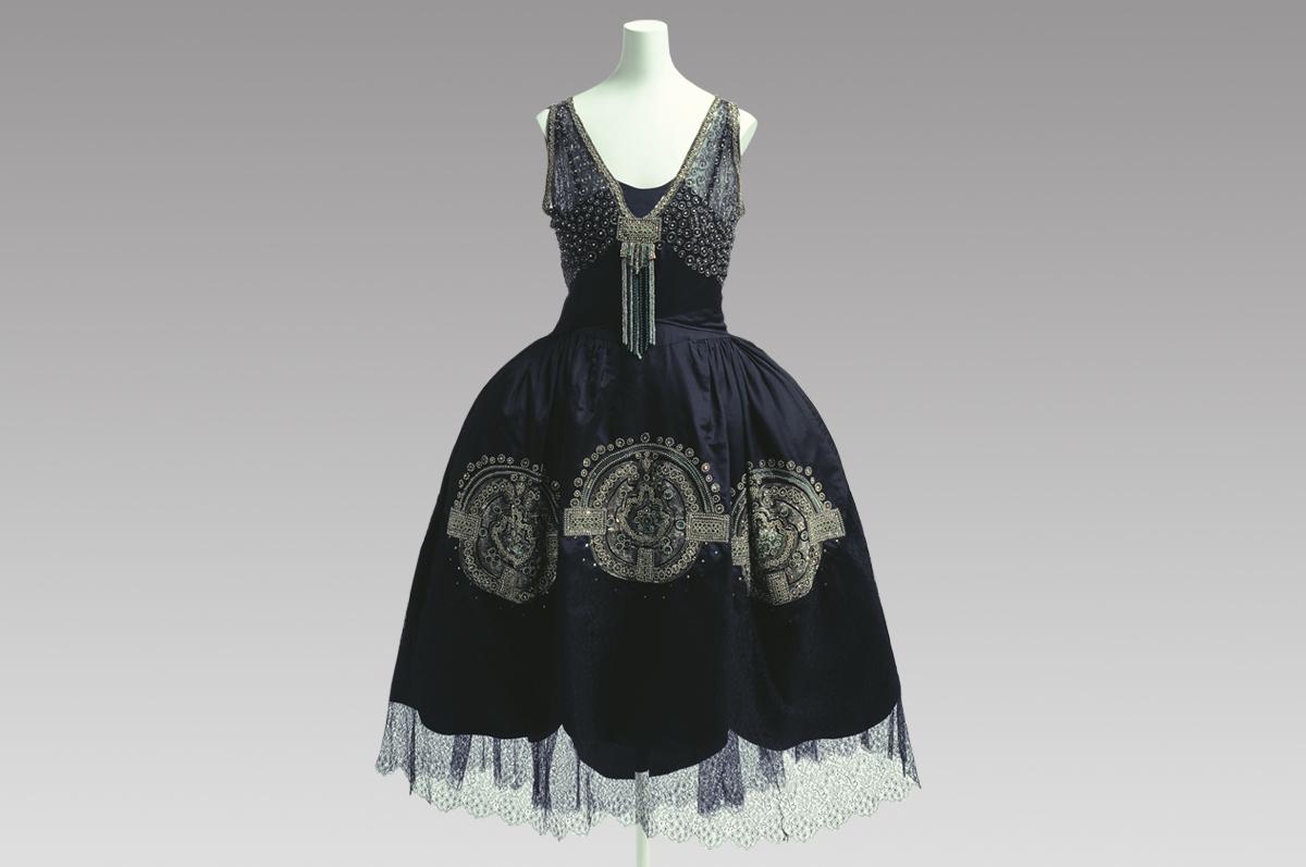 Платье вечернее, модный дом Lanvin. Франция, около 1925