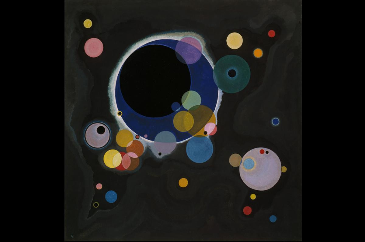 Василий Кандинский «Несколько кругов» (Einige Kreise), 1926 / © Solomon R. Guggenheim Museum