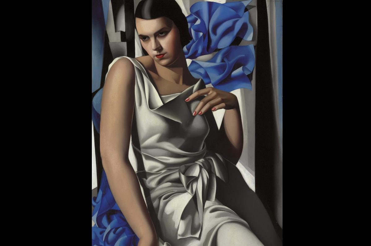 Тамара Лемпицка. «Портрет Мадам М.», 1932