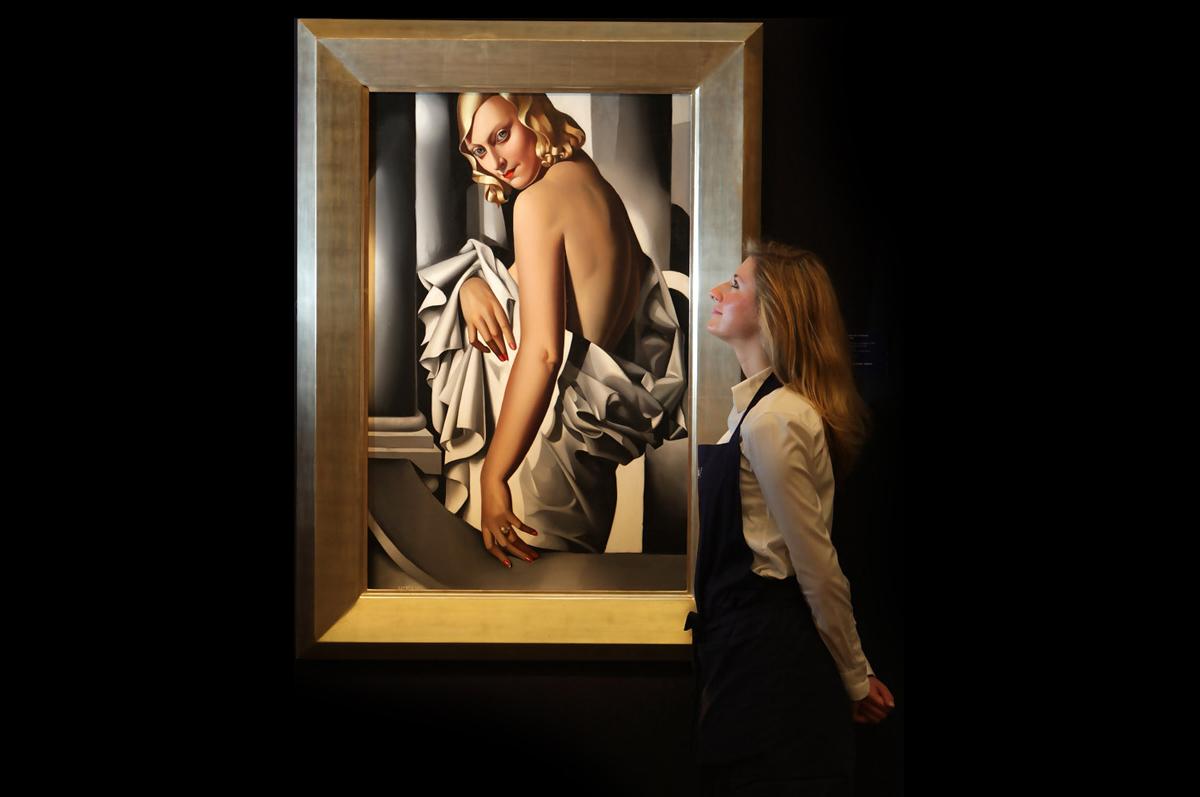 Тамара Лемпицка. «Портрет Марджори Ферри», 1932