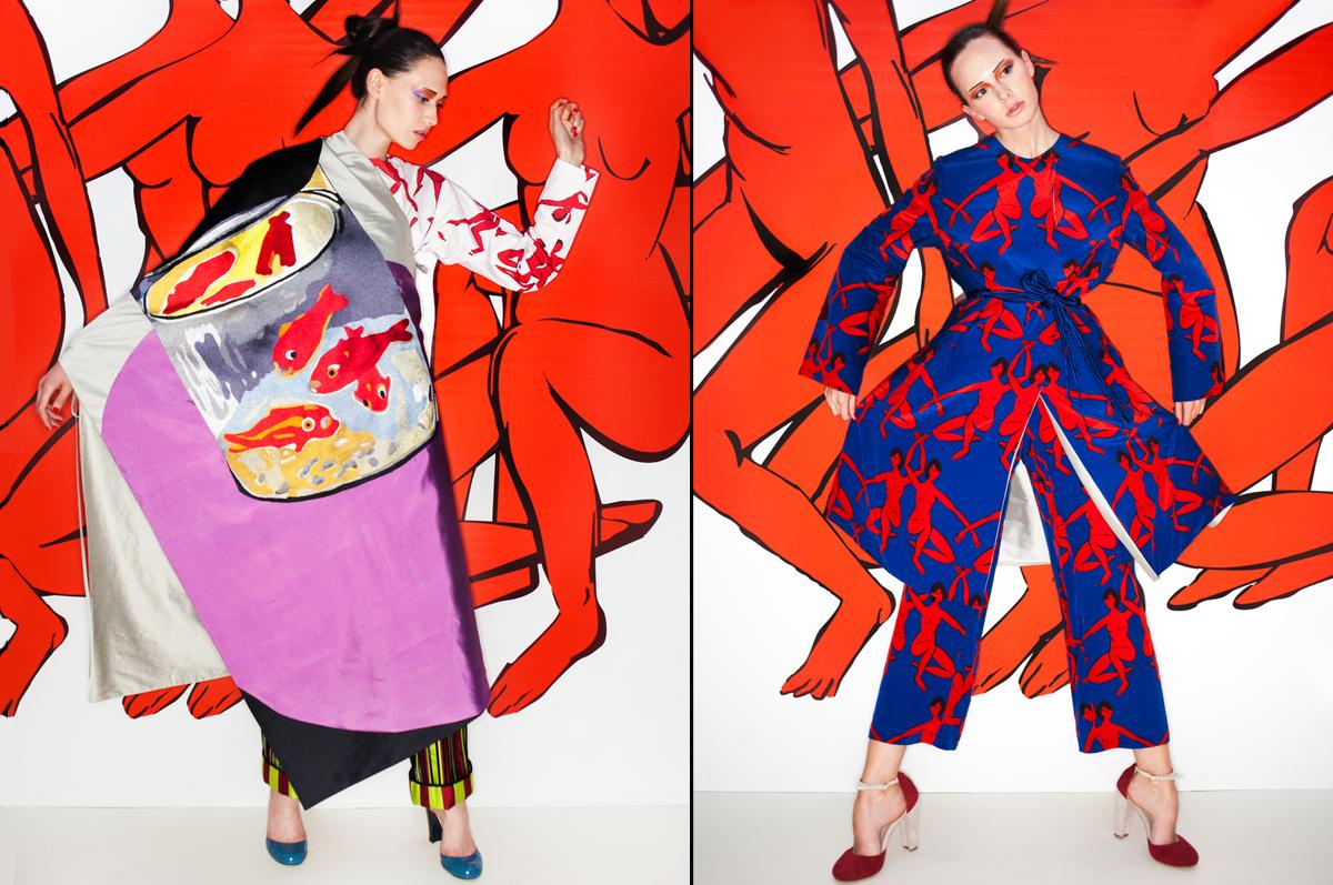 Полотна Матисса и музыка Поднебесной в коллекции модного дизайнера TATYANA PARFIONOVA «Цигун»