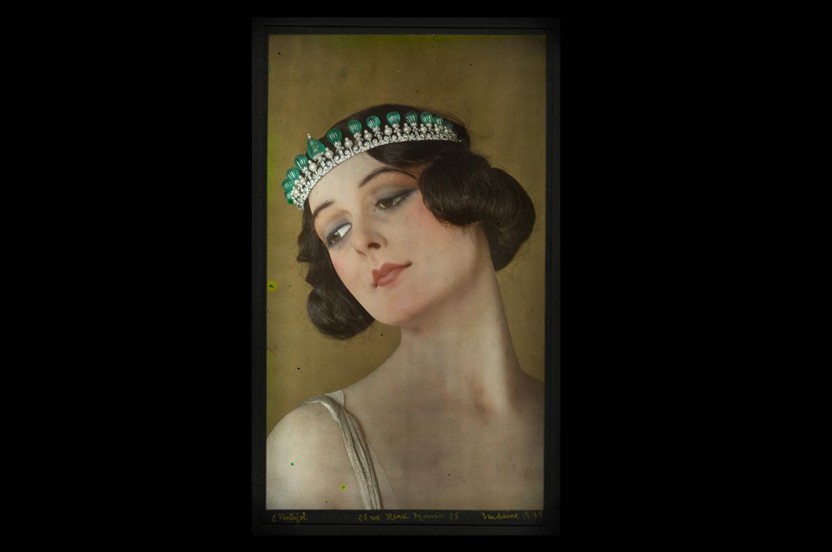 Автохромная фотография, Cartier. Париж, 1923