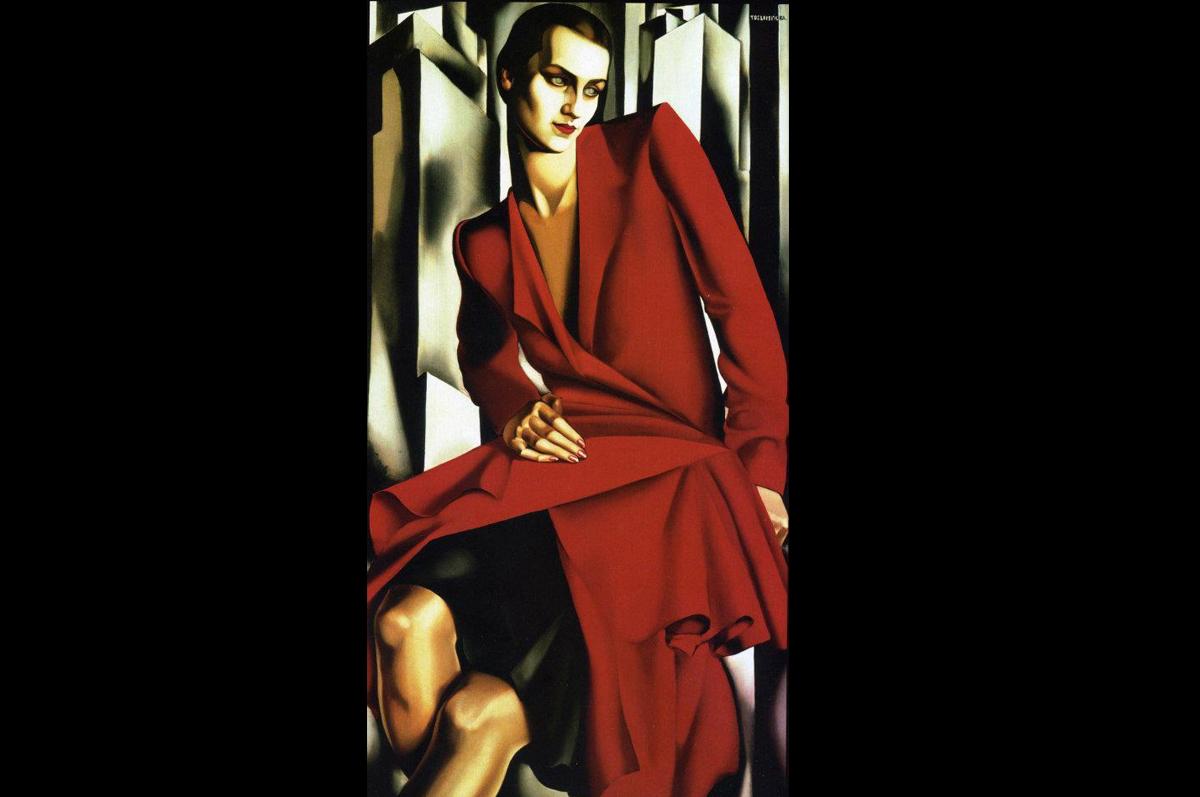 Тамара Лемпицка. «Портрет Миссис Буш», 1929