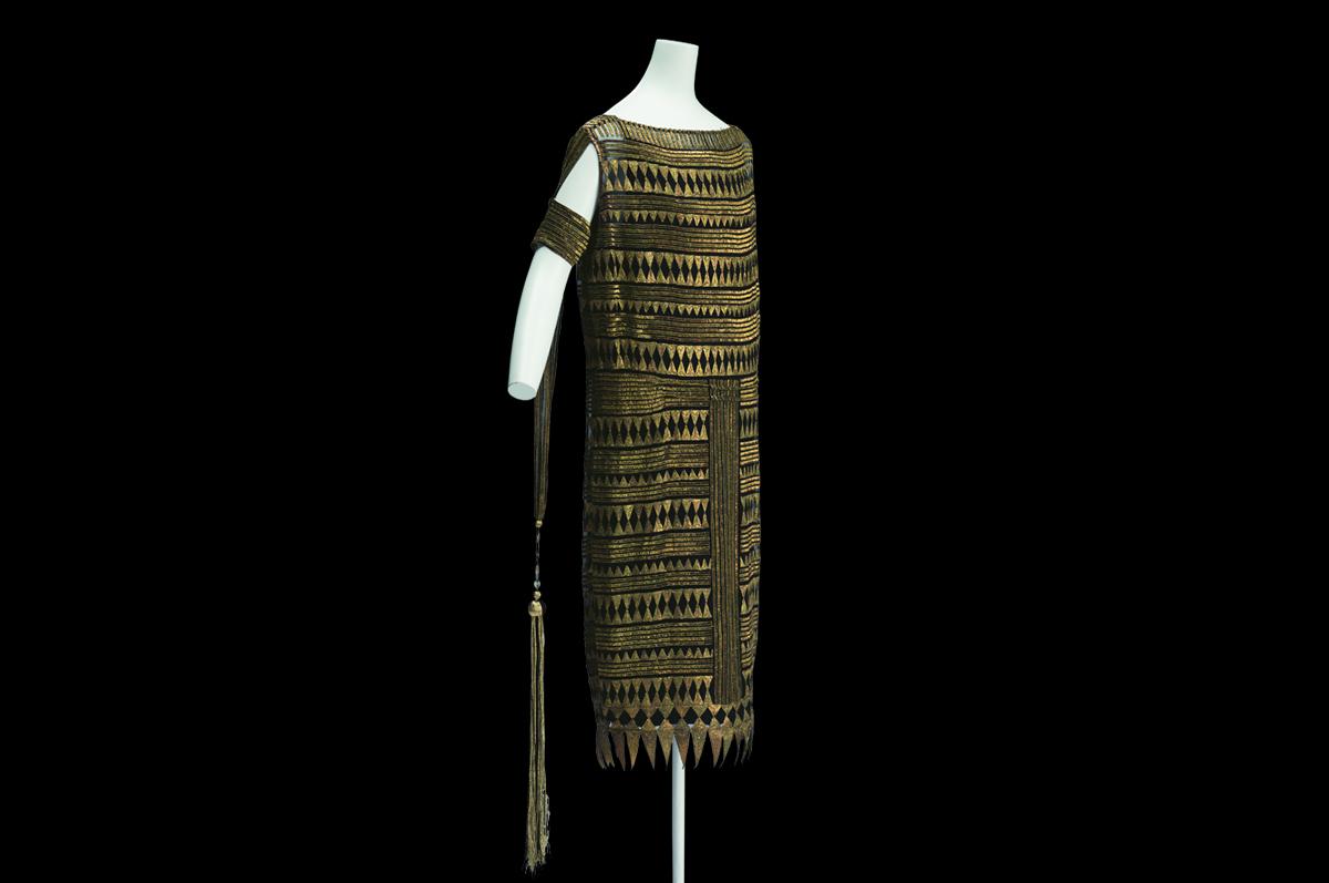Платье вечернее, модельер — Мадлен Вионне. Франция, 1927