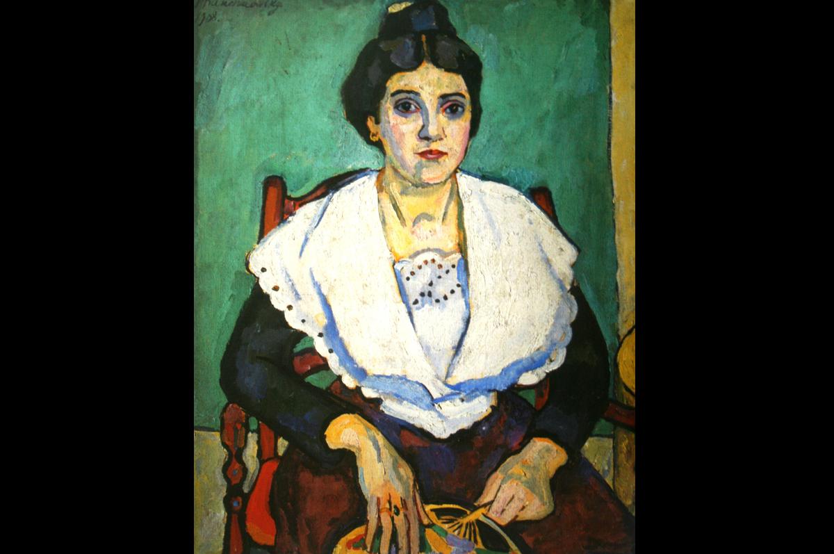 Петр Кончаловский. Девушка из Арля, 1908