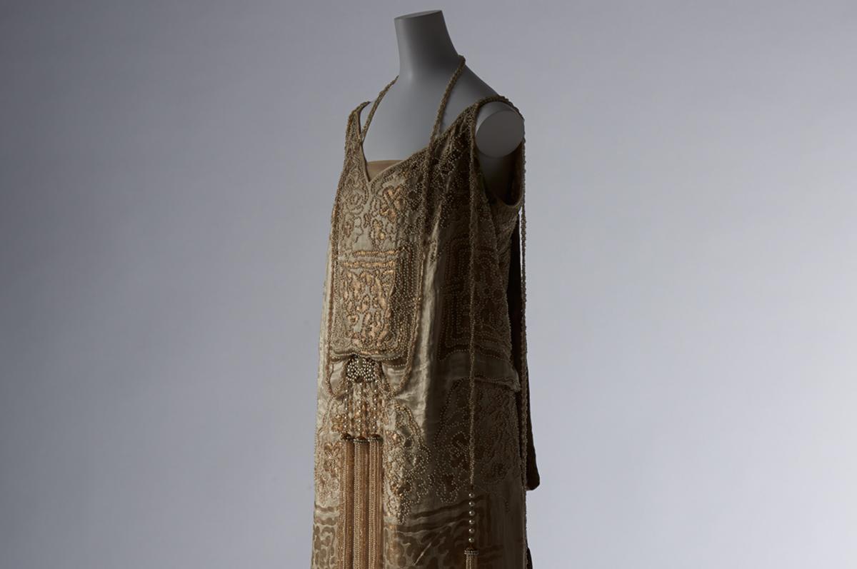 Платье модного дома «Сестры Калло». Франция, зима 1922