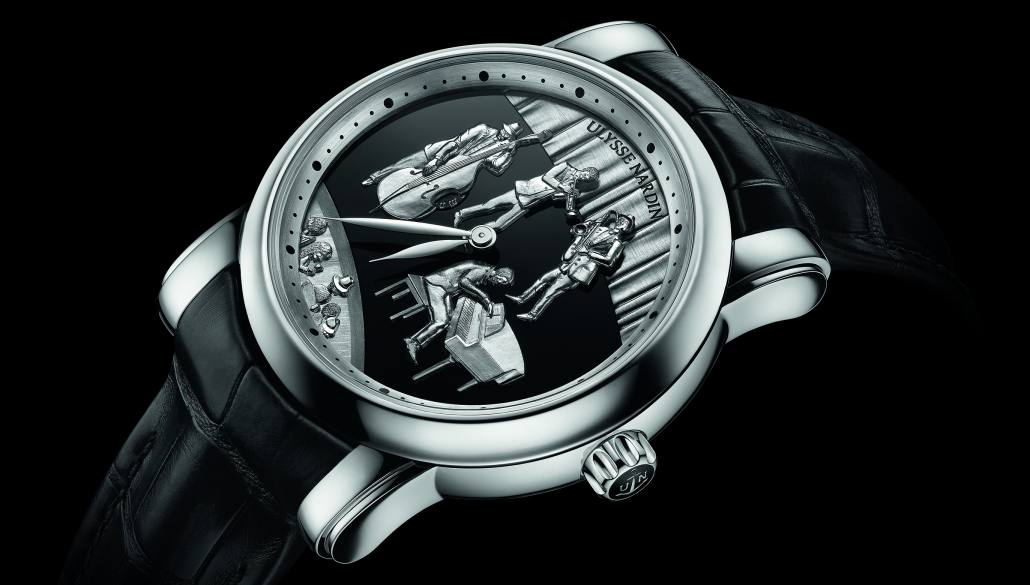 «Jazz Minute Repeater» Ulysse Nardin