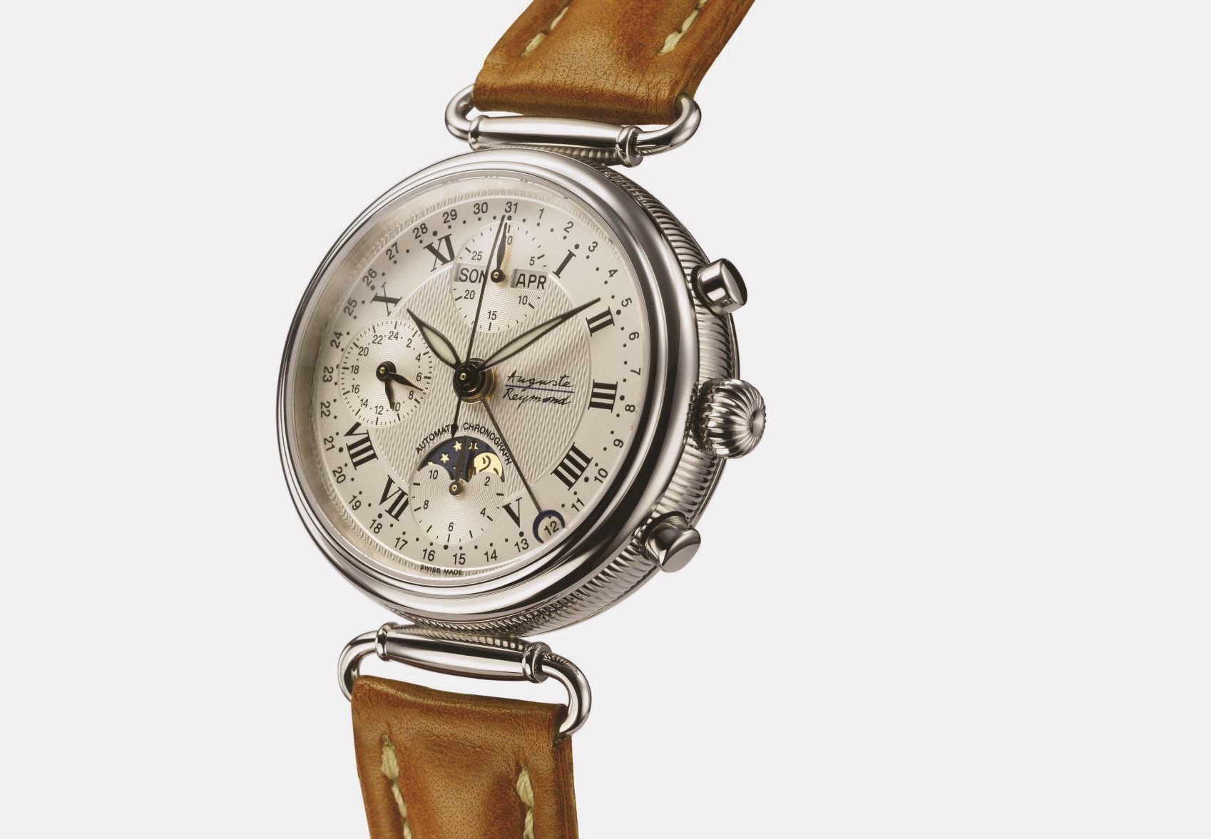 «Jazz Age Chronograph Moonphase» Auguste Reymond