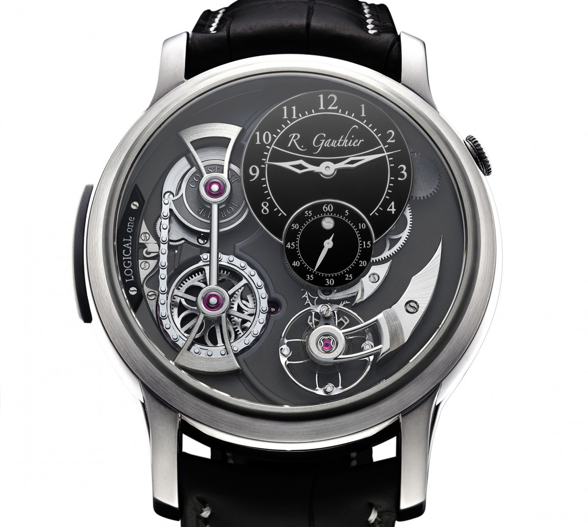 Logical One Natural Titanium, Romain Gauthier