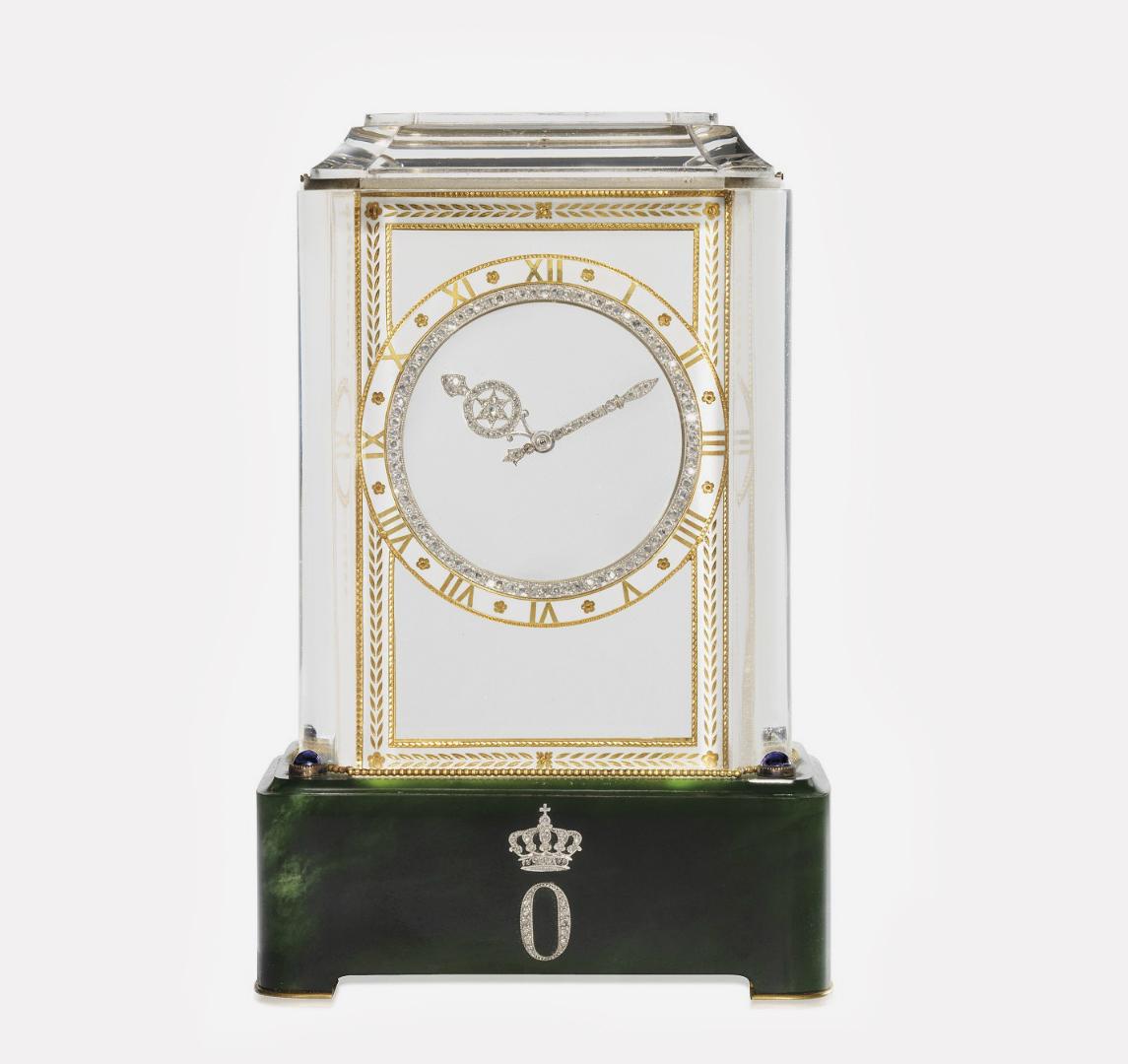 Часы «Mystery Clock» великой княжны Ольга Константиновны