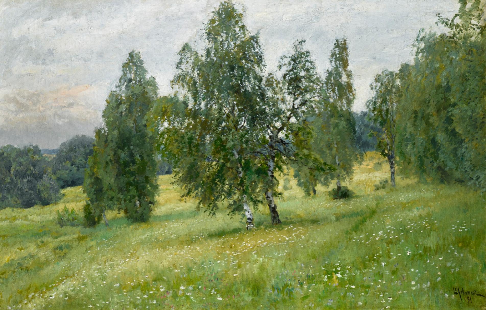 Исаак Левитан. Лето, 1891