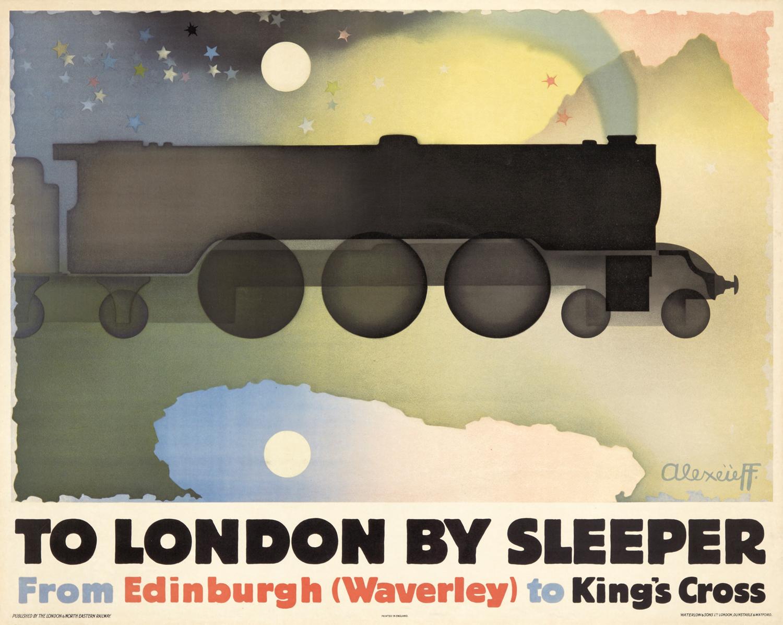 Александр Алексеев. To London by Sleeper, 1932