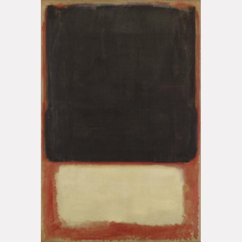 Марк Ротко. № 7 (Темное на светлом), 1954