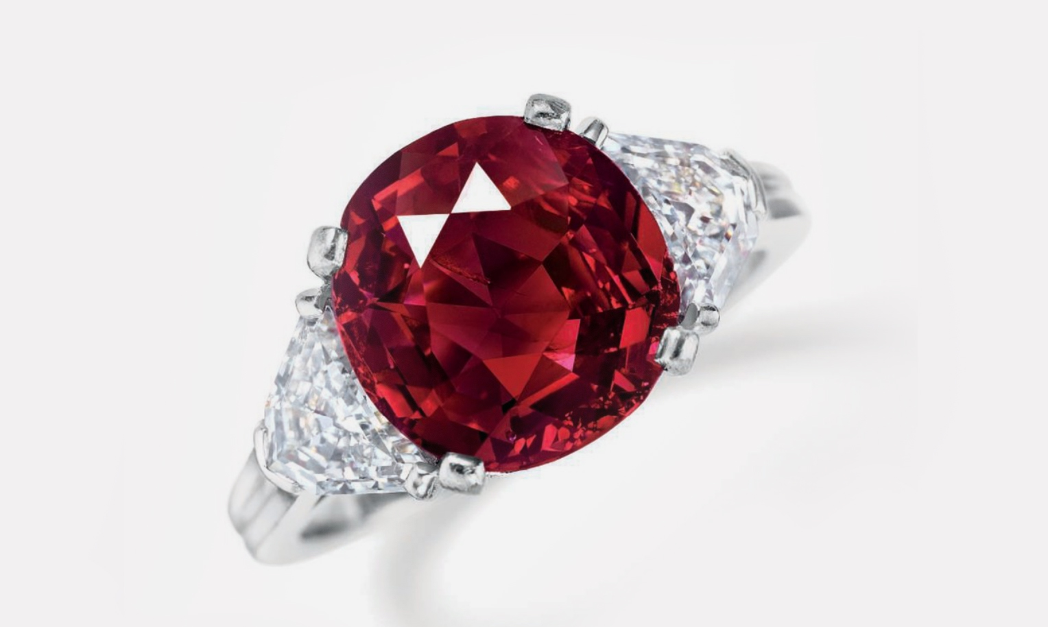 Кольцо Tiffany, подаренное Ирвингом Берлином на рубиновую свадьбу своей супруге