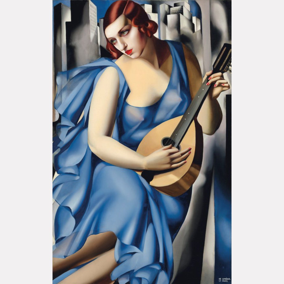 Тамара де Лемпицки. Музыкантша, 1929