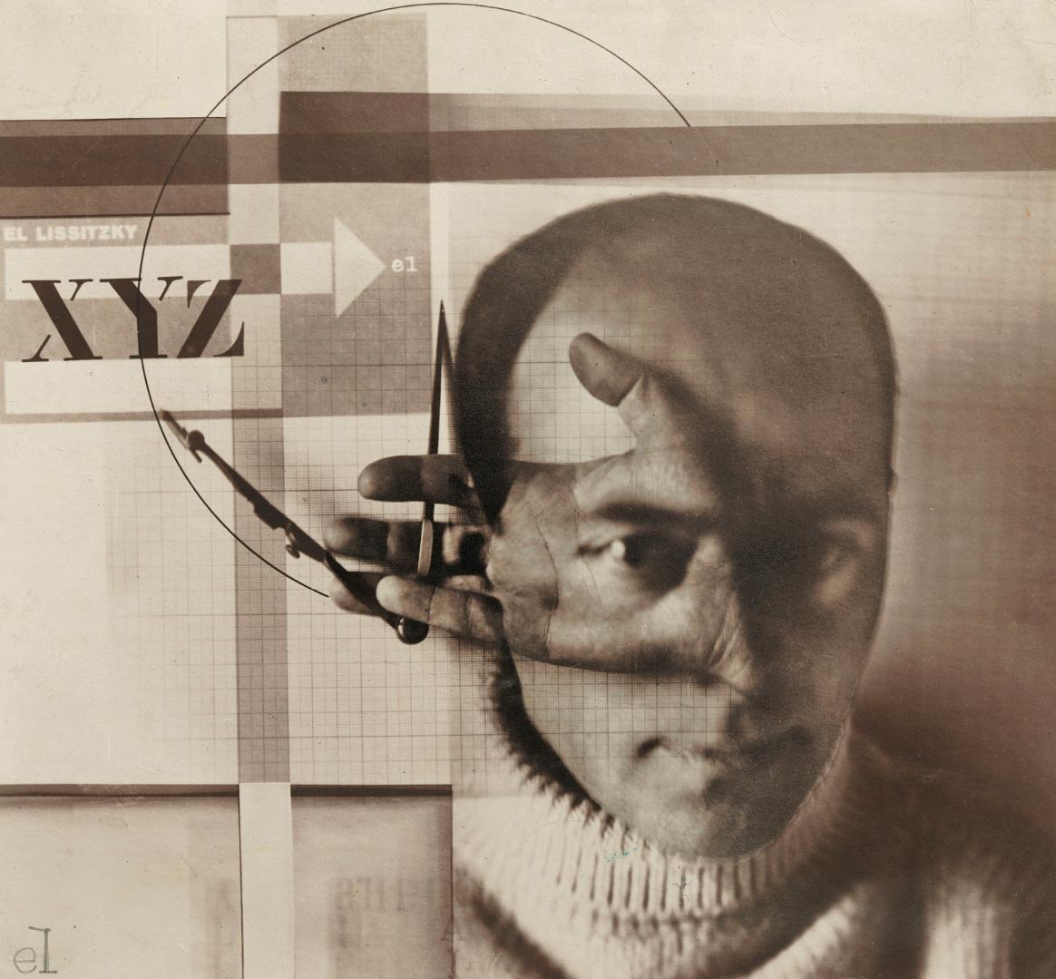 Эль Лисицкий  «Автопортрет («Конструктор»)» 1924