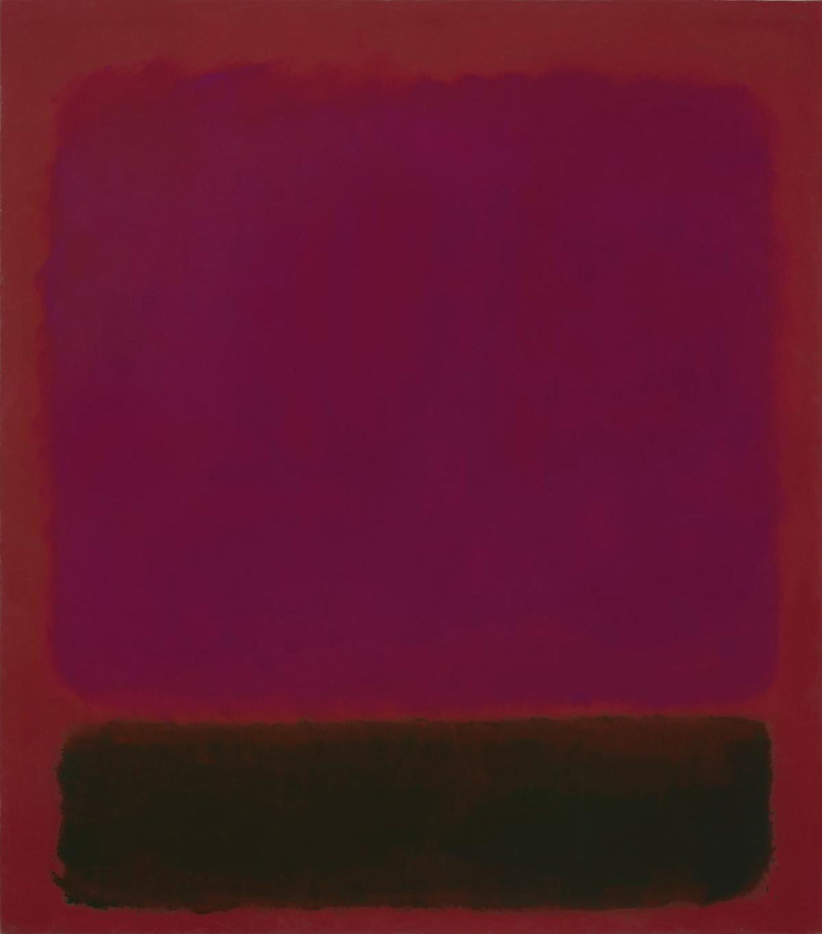 Марк Ротко. «Без названия», 1967