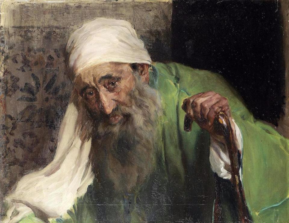 Хоакин Соролья. Один еврей, 1898