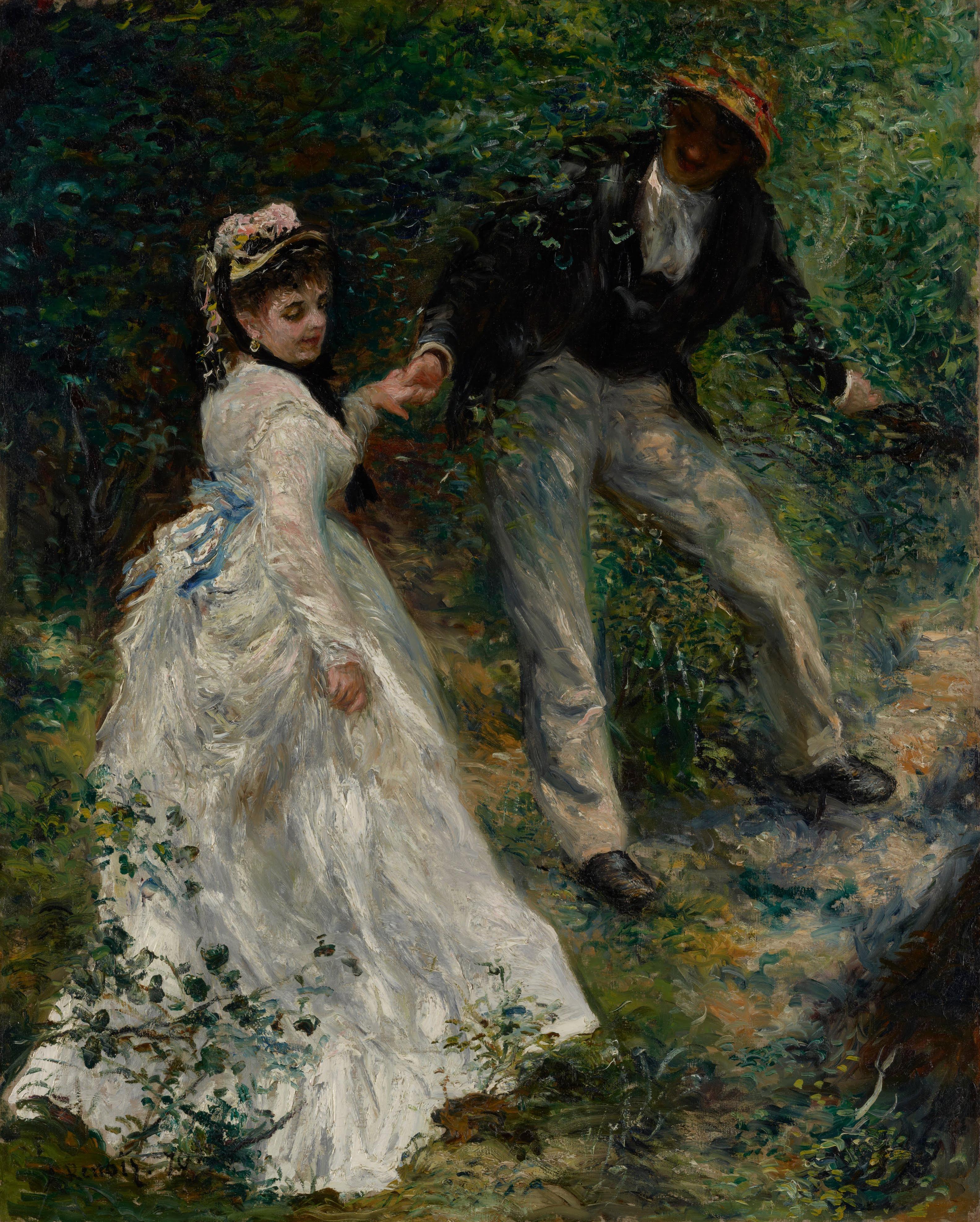 Пьер Огюст Ренуар. Прогулка (La Promenade), 1870