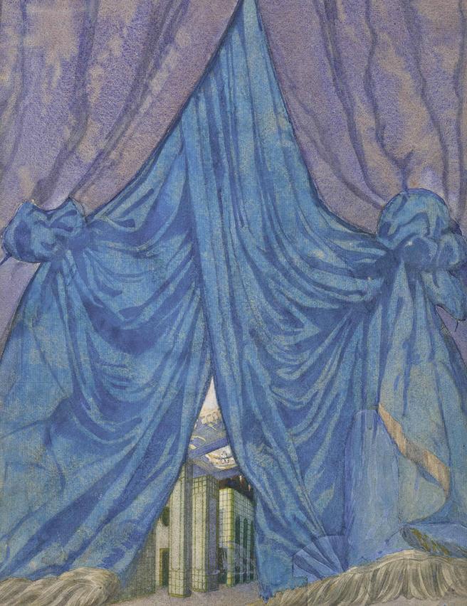 Лев Бакст, 1921 / Дизайн для «Спящей красавицы»: занавес / £12,000-£18,000