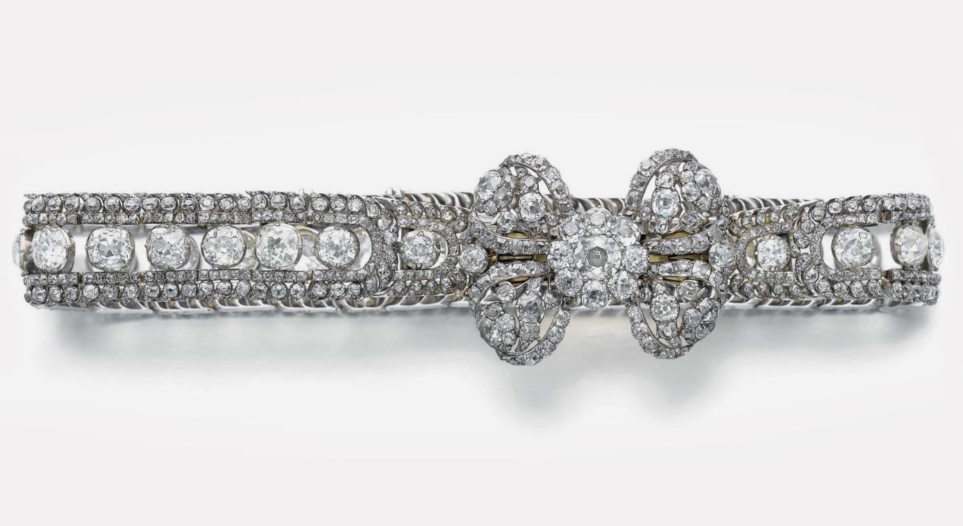 Бриллиантовое колье императрицы Екатерины Великой