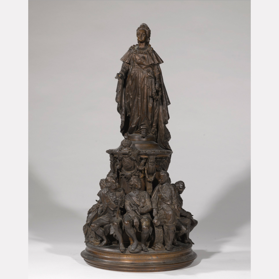 Екатерина Великая, бронза, конец 19 века