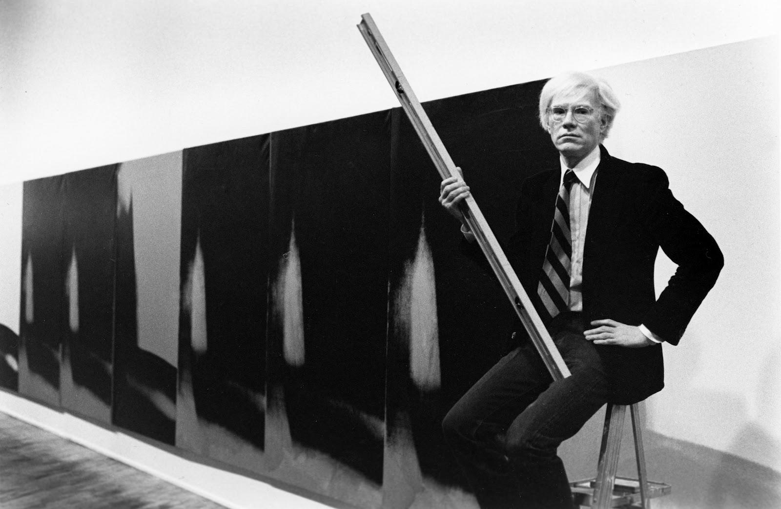 """Энди Уорхол и его """"Тени"""" / фото © 1979 Arthur Tress"""