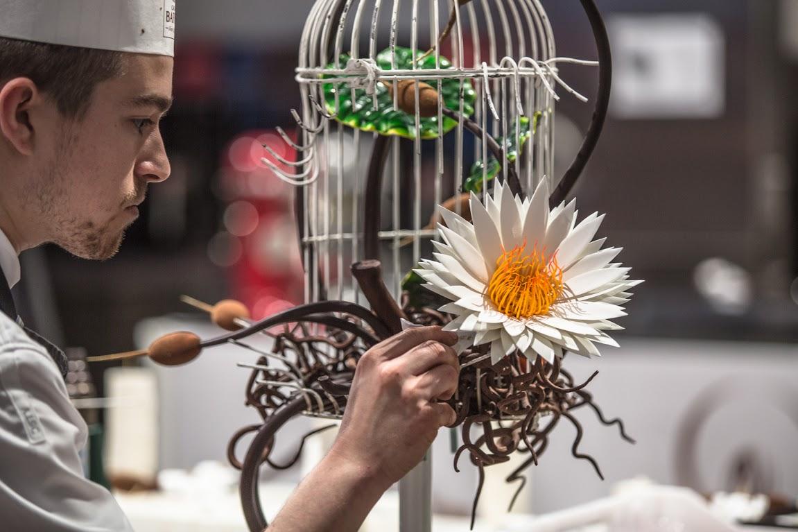 Винсент Валле — лучший шоколатье на World Chocolate Masters 2015