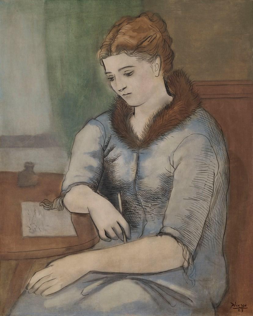 Пабло Пикассо. Письмо, 1923