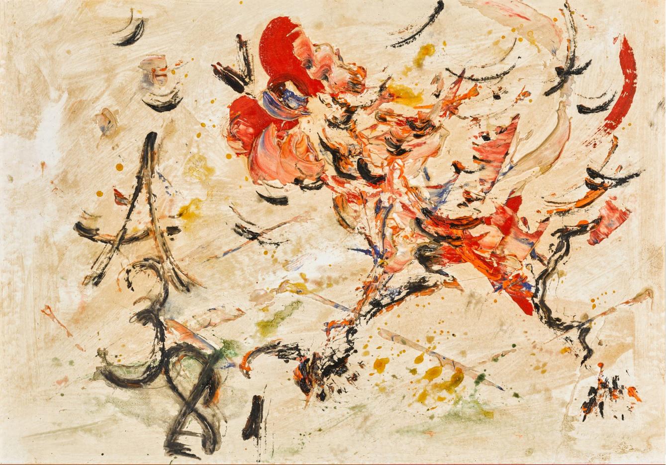 Анатолий Зверев. «Петух», 1981