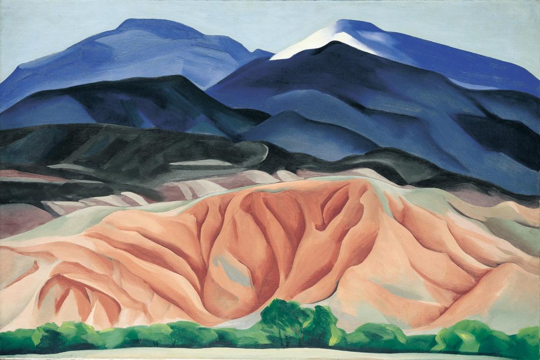 Georgia O'Keeffe / Black Mesa Landscape, New Mexico