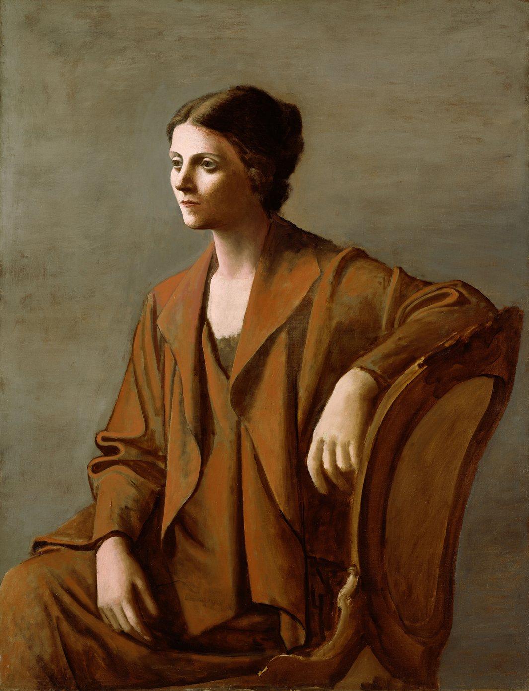 Пабло Пикассо. Портрет Ольги, 1923