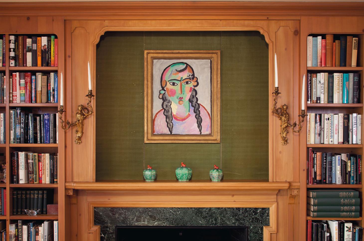 «Бледная девушка с серыми косами» Алексея фон Явленского в нью-йоркских апартаментах Греты Гарбо