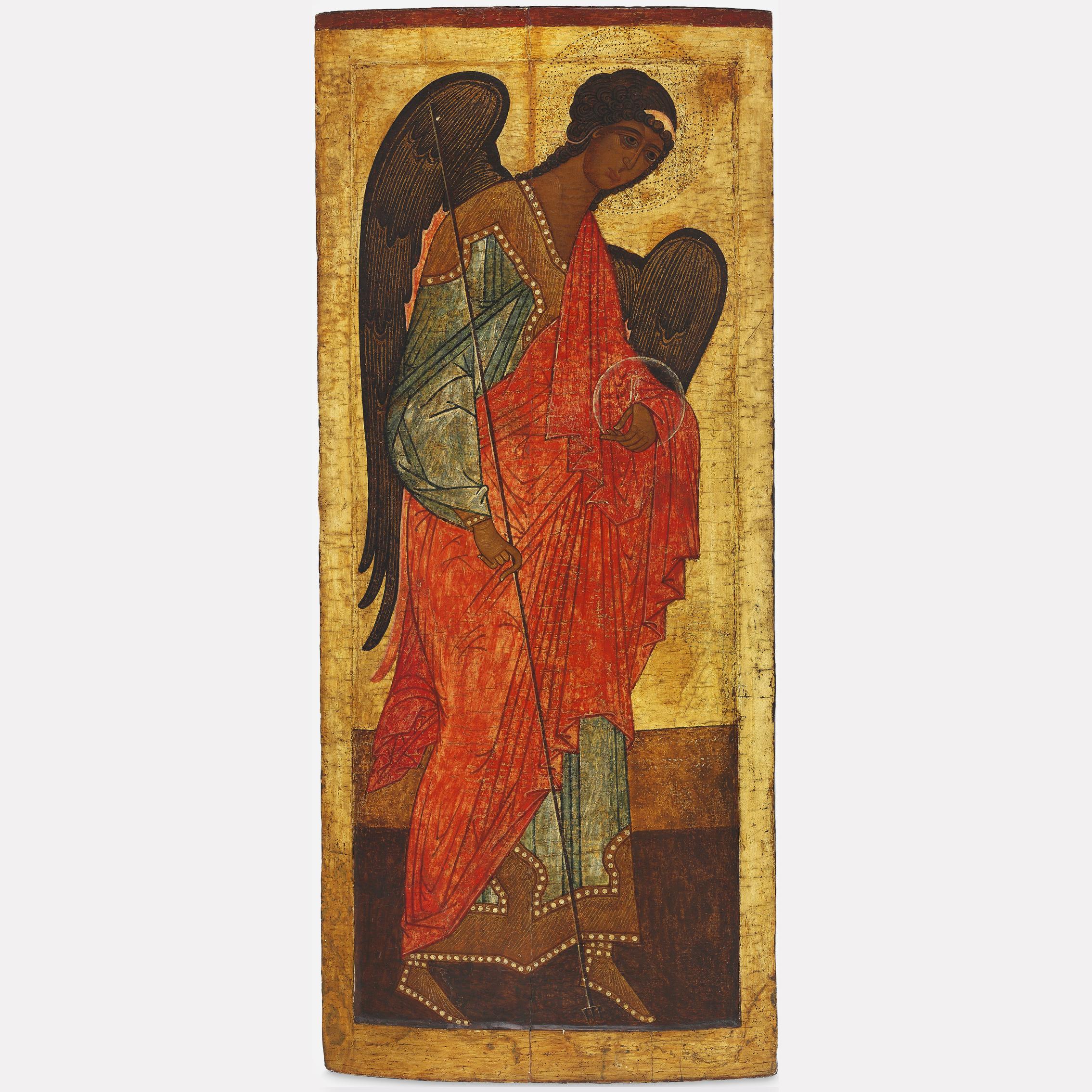 Икона святого Архангела Михаила, ок. 1500, Новгородская школа