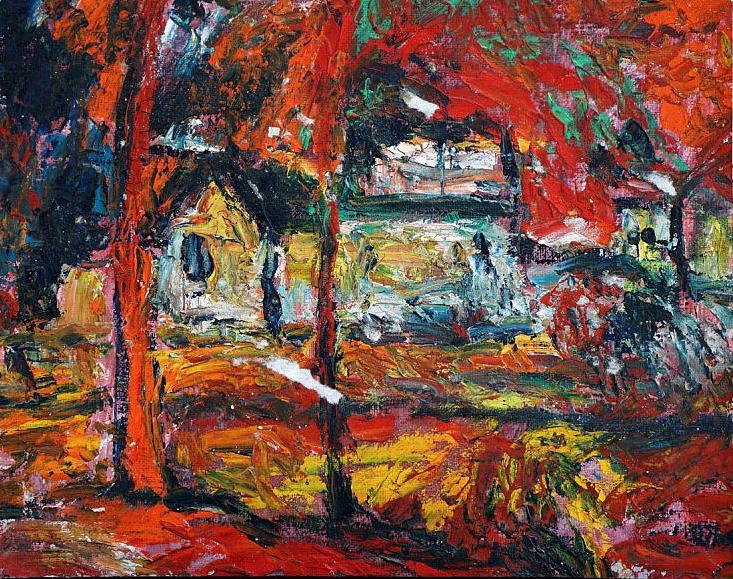 Андрей Тарковский. Деревня, 1960–65 / частная коллекция