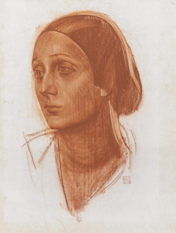Александр Яковлев. Портрет Анны Паловой