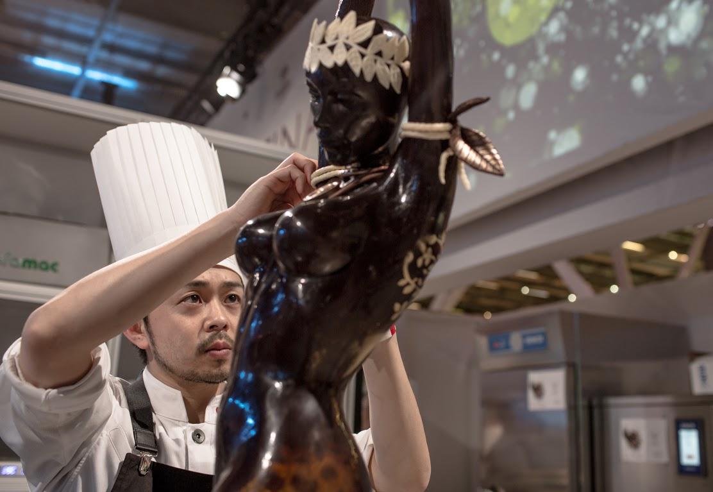 Хисаси Онобаяси занял 2 место на World Chocolate Masters 2015