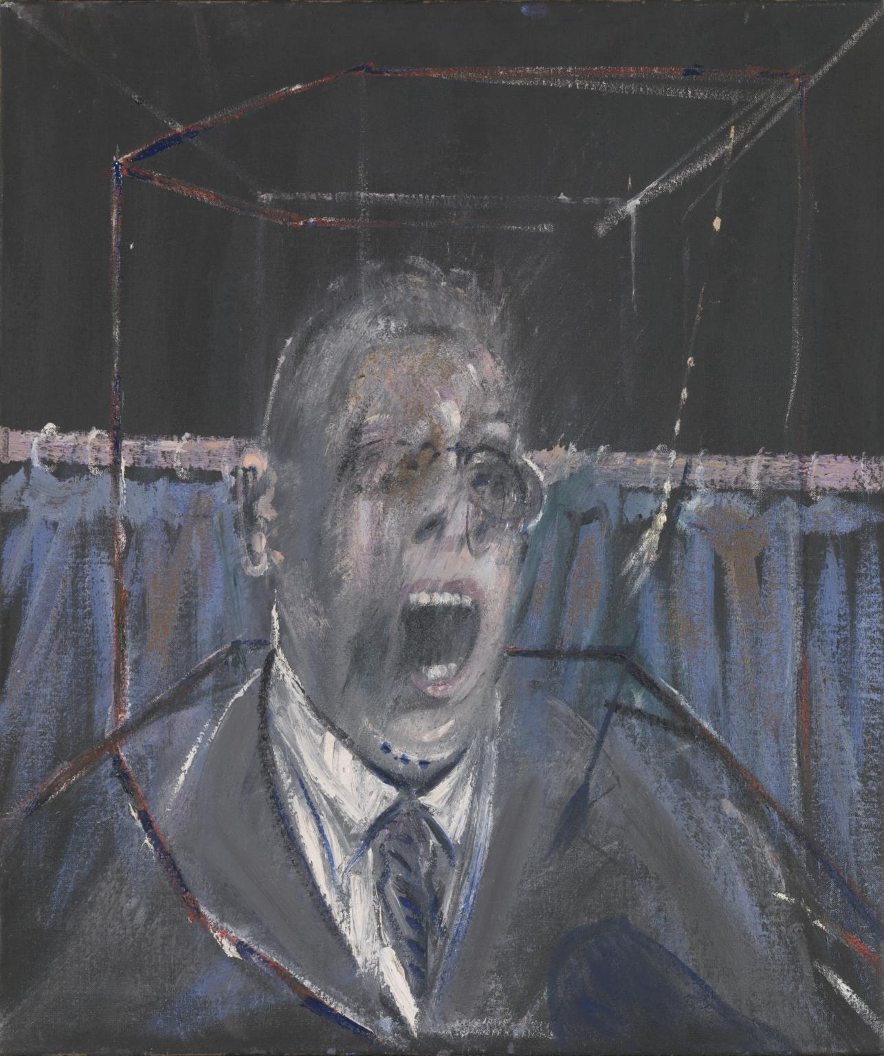 Francis Bacon / Study for a Portrait 1952