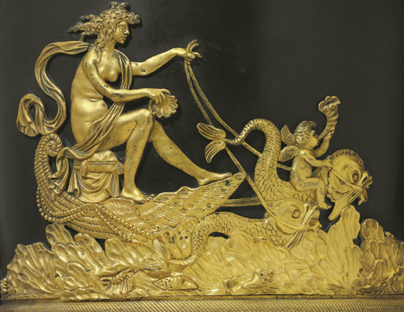 Ваза (фрагмент), первая половина 19 века / мастер Фридрих Бергенфельд
