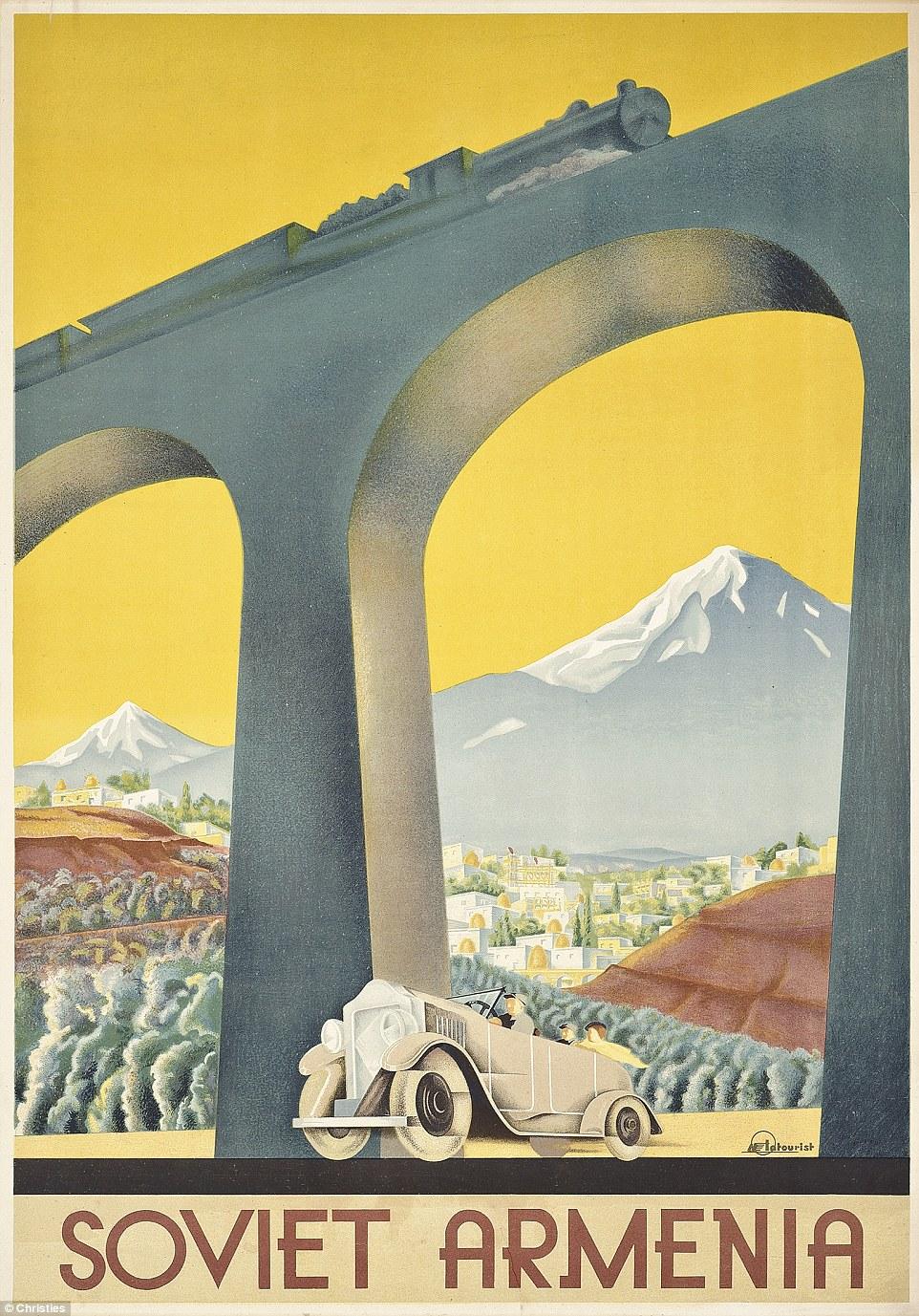 Сергей Игумнов. Soviet Armenia, 1936