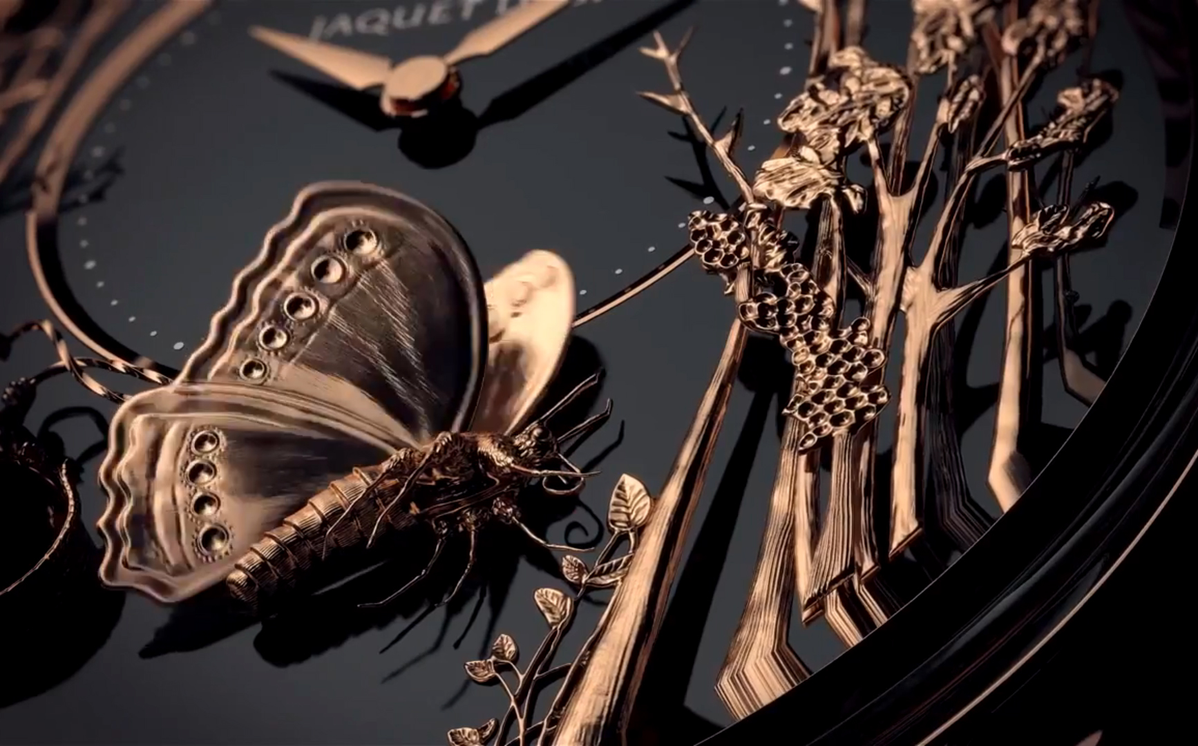 Loving Butterfly Automaton / фото © Jaquet Droz