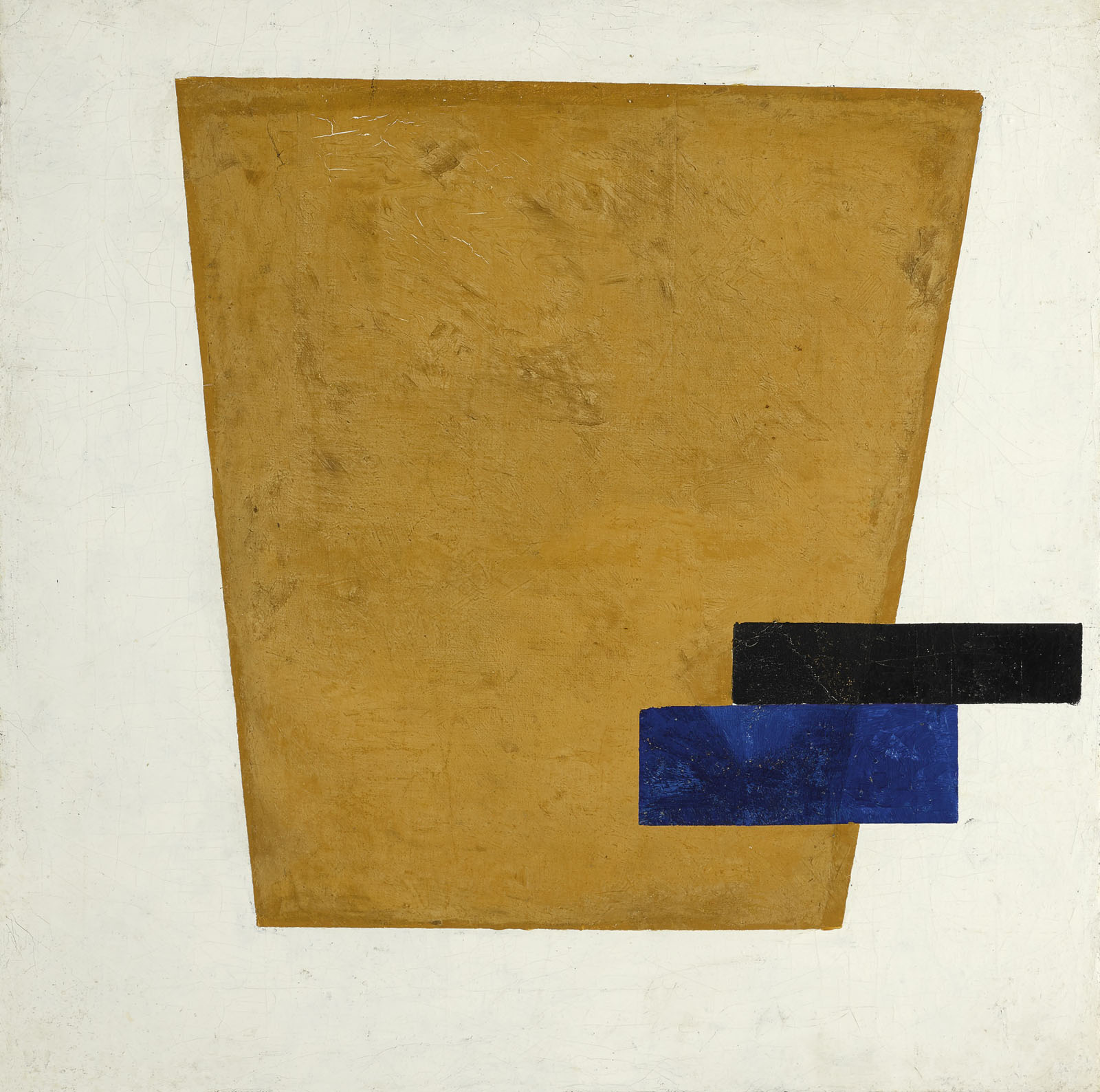 Казимир Малевич. Супрематическая композиция с плоскостью в проекции, 1915