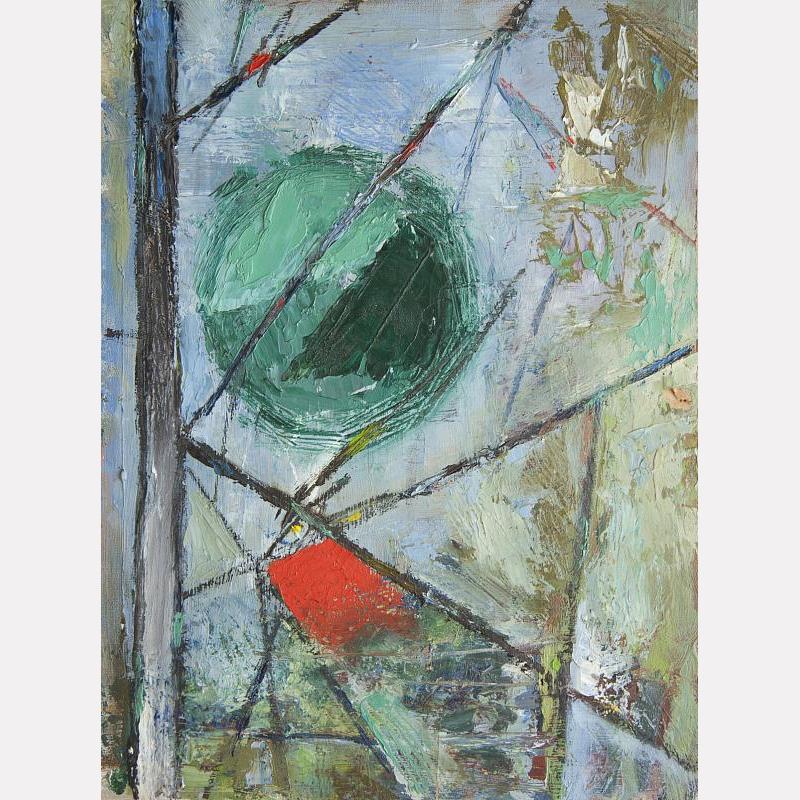 Андрей Тарковский. Абстракция, 1948 / Государственный центральный музей кино