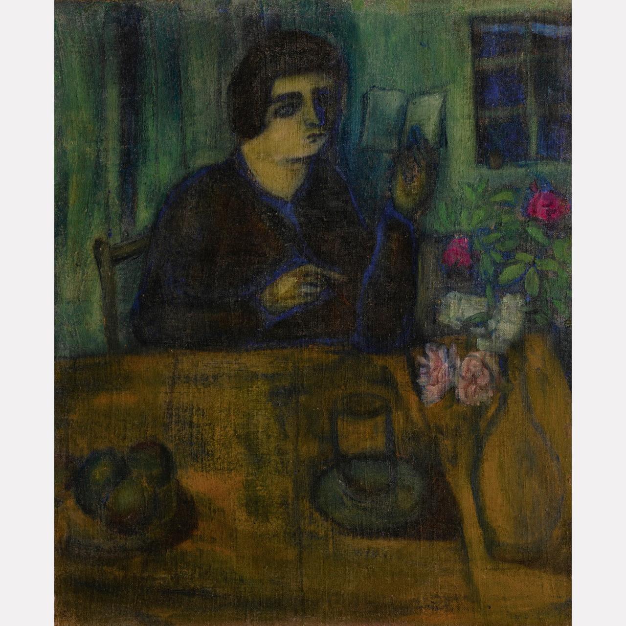 Марк Шагал. Портрет сестры художника, 1908