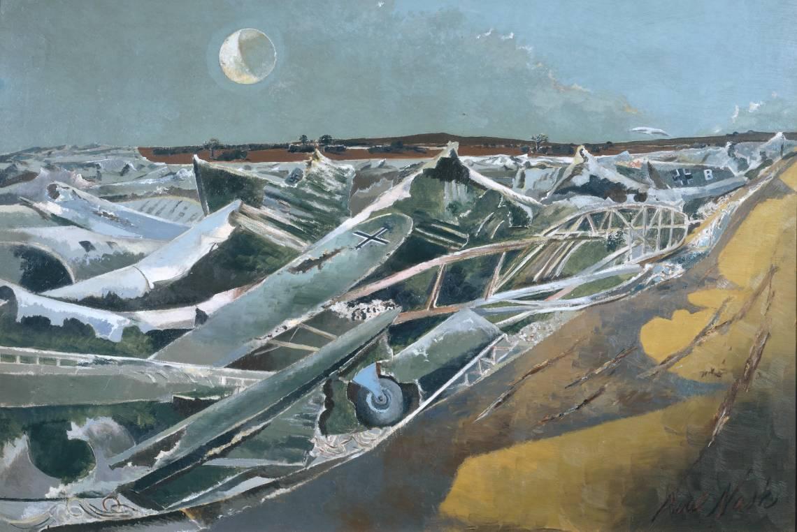 Paul Nash / Totes Meer (Dead Sea) 1940-1