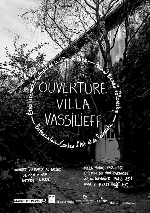 Плакат к открытию La Villa Vassilieff, 2016