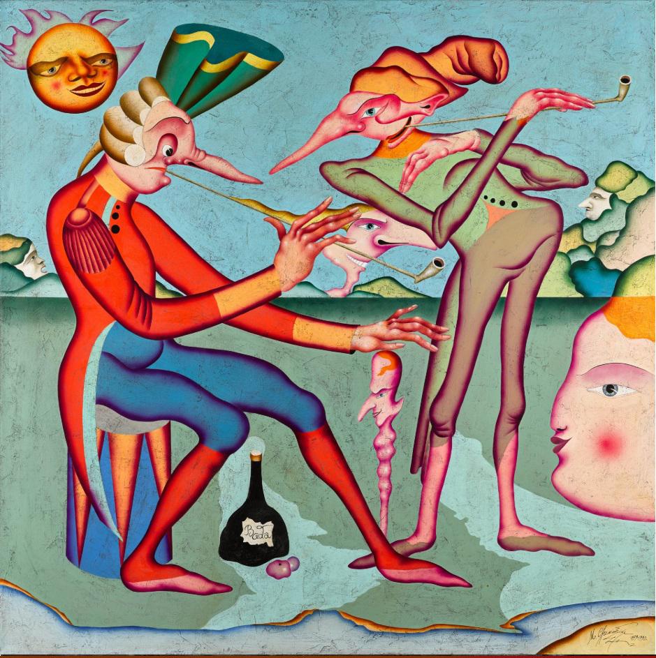 Михаил Шемякин. Из серии «Карнавалы Санкт-Петербурга», 1979-1990