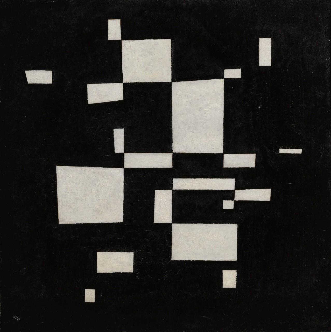 Василий Кандинский. Белое на Черном, 1930
