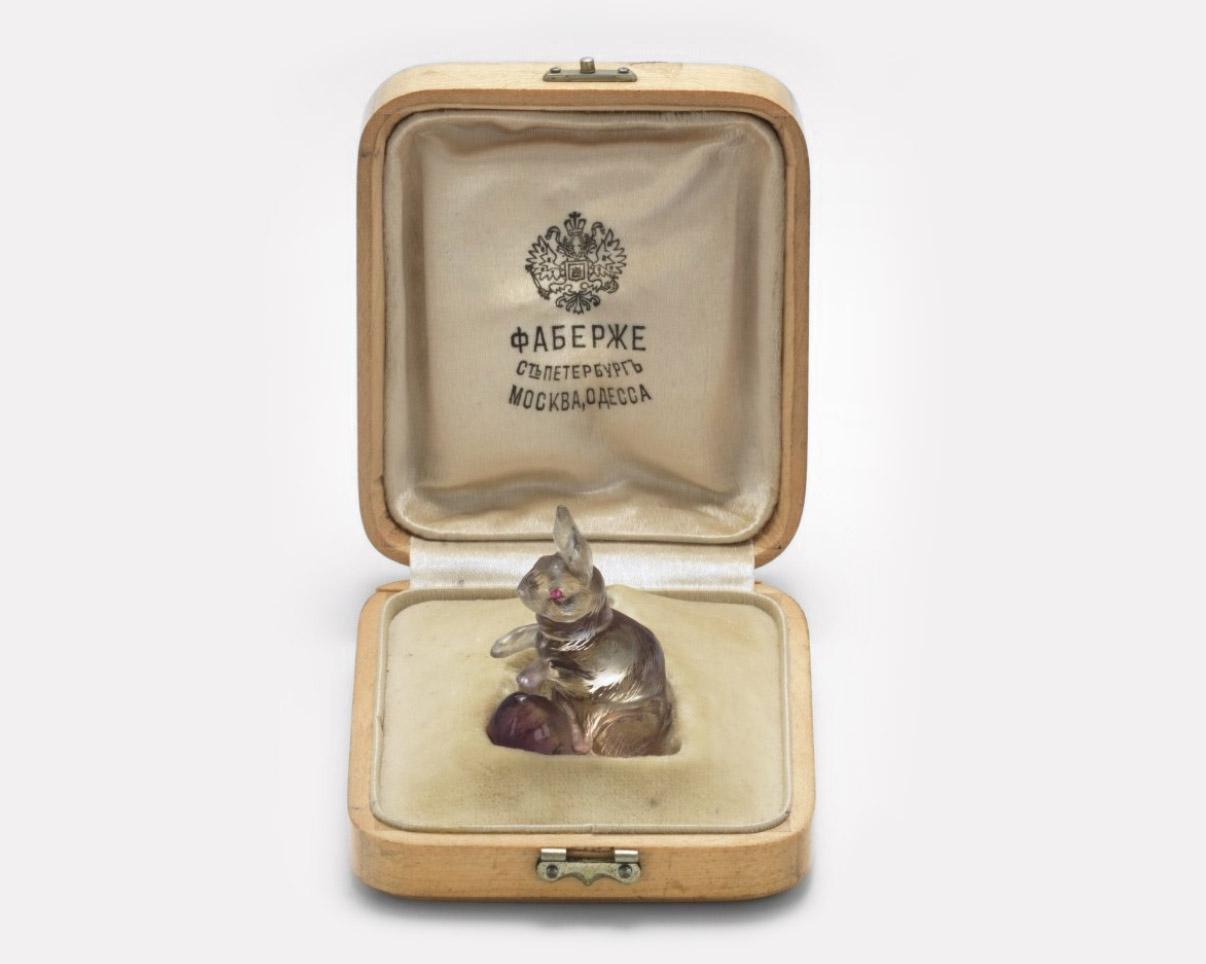 Фигурка кролика Fabergé, ок. 1900